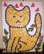 Осенние поделки из шишек в детский сад – Поделки из шишек, осенних листьев, семян, соломки (фото)