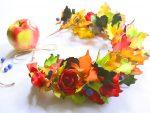 Осенняя поделка платье для куклы из листьев – Создаем платье «Осень» с листьями из фоамирана – Ярмарка Мастеров