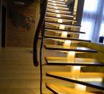 Освещение лестницы в деревянном доме – инструкция по монтажу. Выбираем подсветку для лестницы. Рассмотрим разновидности подсветки для лестницы.Информационный строительный сайт |