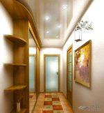 Освещение в прихожей с натяжными потолками – Дизайн потолка в прихожей 🔰 110 фото, освещение пластиковых панелей и натяжных двухуровневых потолков, оформление точечными светильниками