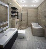 Отделка и дизайн ванной комнаты и туалета