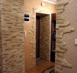 Отделка квартиры декоративным камнем – Отделка квартиры декоративным камнем. Советы по дизайну. подробные инструкции. Фото.