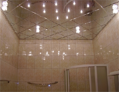 Отделка потолка в ванной комнате – видео-инструкция по монтажу своими руками, чем и как отделать лучше, варианты, фото