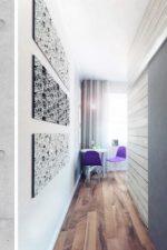 Отделка прихожей декоративным камнем и обоями фото в хрущевке – современные идеи интерьера 2018 для маленького узкого коридора, реальные примеры обстановки в малогабаритных прихожих