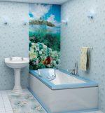 Отделка пвх панелями ванной в деревянном доме – Отделка ванной комнаты своими руками: плиткой, пластиковыми панелями, в деревянном доме , фото и видео