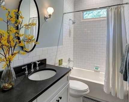 Отделка ванной комнаты плиткой фото дизайн 6 кв метров