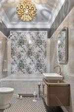 Панно плитка для ванной комнаты фото дизайн – керамическая и стеклянная плиточная мозаика на стену, варианты рисунков и размеры, обзор производителей