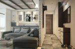 Планировка квартиры 40 кв м в двухкомнатную фото – современные примеры ремонта и обустройства интерьера, проект планировки квартиры-студии