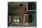 Планировка мини квартиры
