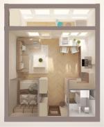 Планировка однокомнатной квартиры 33 кв м фото – Дизайн интерьера студии 33 кв метра, перепланировка студии, интерьер маленькой квартиры, как функционально спланировать однушку — студию,дизайнер Никита Зуб