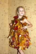 Платье из листьев клена – parafin-eto — запись пользователя Катерина (kid-toys) в сообществе Игровая комната в категории Костюмы и аксессуары своими руками
