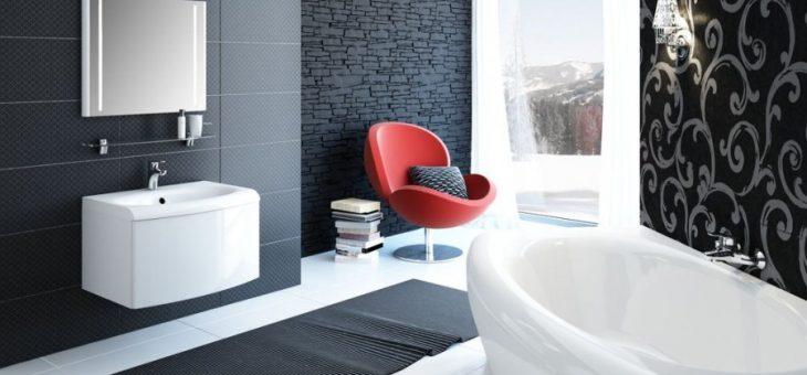 Плитка модная для ванной – примеры оформления душевой комнаты площадью 4 м2, красивый кафель от компании «Керамин»