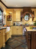 Плитка на кухне на пол – Шикарный дизайн пола кафельной плиткой на кухне. Советы по выбору и реальные примеры