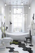 Плитка в ванной на полу фото – напольное покрытие для душевой комнаты, черные варианты и с рисунком «под дерево» в интерьере, размеры моделей из ПВХ, какую выбрать