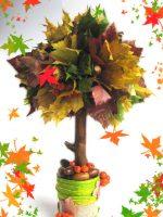 Поделки из листьев своими руками на тему осень для детского сада