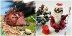 Поделки с каштанов и листьев – Мастер-классы с фото для детского сада ( для детей 3-5 лет) и в школу поделок сиз желудей, шишек, листьев и каштанов