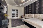 Поклейка обоев в гостиной – Как красиво поклеить обои в зале двух цветов: фото интерьеров, возможности комбинирования