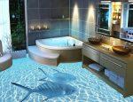 Пол 3д в ванной фото – Наливные полы 3д в ванной комнате своими руками : технология процесса и фото вариантов