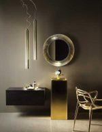 Полка к зеркалу в ванной – Зеркало в ванную комнату — рейтинг настенных, напольных и дизайнерских моделей с ценами и фото