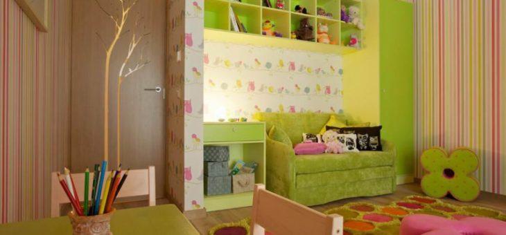 Полосатые обои в детской комнате фото – в комнату, фото, для стен, наклейки на обои в интерьере, с бабочками, в полоску, со звездами, для разнополых детей, цвет, видео