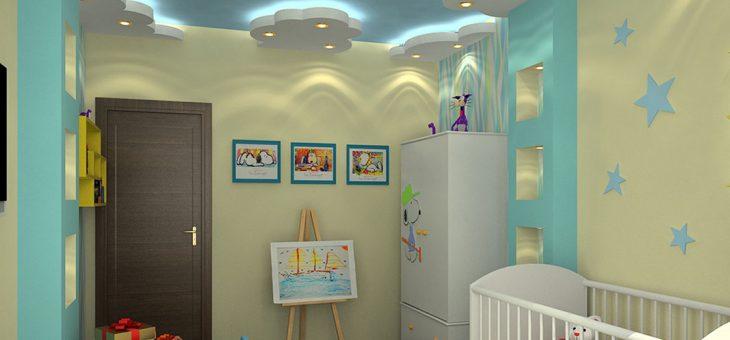 Потолки для детской комнаты фото из гипсокартона – Дизайн потолка в детской — своими руками из гипсокартона, натяжной, покраска, обои