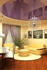 Потолки натяжные разноцветные – цветные варианты в интерьере, выбор расцветки, цветовая гамма и палитра изделий, голубой потолок в квартире