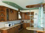 Потолки в кухне из гипсокартона – Гипсокартонные потолки на кухне — Только ремонт своими руками в квартире: фото, видео, инструкции