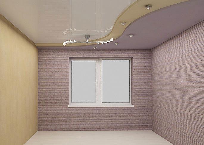 бабы потолки из гипсокартона фото для небольших комнат абстракция значение