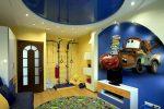 Потолок в детской комнате фото для мальчика – Потолок в детской комнате для мальчика (28 фото): оформление потолка для подростка