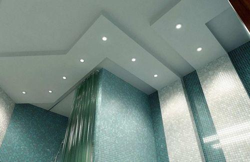 Потолок в ванной комнате какой выбрать – какие выбрать в комнате, что лучше, фото и высота, вентилятор стеклянный, современный профиль