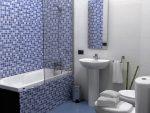 Пример отделки ванной комнаты фото