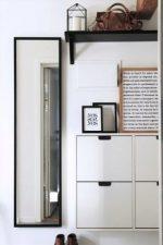 Прихожая в стиле икеа – многообразие мебели от ikea в современном стиле, оригинальный дизайн вариантов с подставкой или корзиной для зонтов