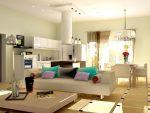 Проект кухня с залом – Гостиная совмещенная с кухней в хрущевке фото: дизайн интерьера, планировка кухни с залом, проекты как объединить, ремонт и отделка своими руками,