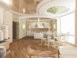 Проект прямой кухни – готовые варианты, инструкция проектирования, как спроектировать интерьер кухни своими руками. Фото варианты реализованых проетков кухни.