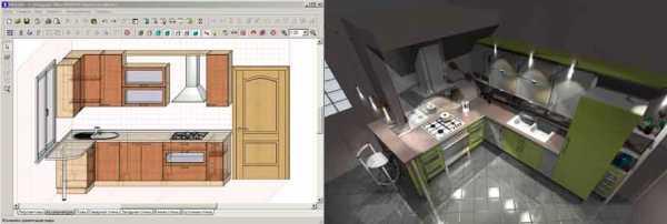программа планировка кухни 3d программа с размерами моделирование