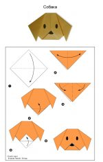 Простые оригами – Схемы простых оригами для вас и вашего ребенка (20 картинок) » Триникси