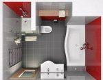 Расстановка в ванной комнате фото в