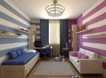 Разделить комнату для мальчика и девочки – дизайн фото, вместе, двухъярусная кровать, оформление зонирования, идеи мебели для подростков, интерьер