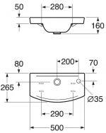 Размеры раковины в ванную