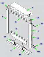 Размеры шкафов купе схематично – Шкаф-купе своими руками — чертежи описание (56 фото): проект и схема с размерами, пошаговая инструкция
