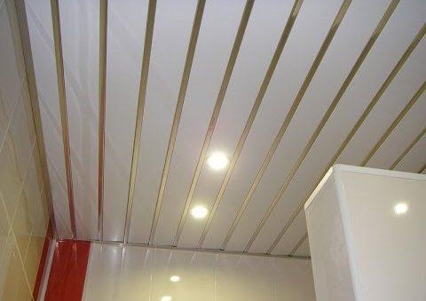 Реечный потолок в ванной фото – Реечный подвесной потолок для ванной: металлические, алюминиевые, пластиковые. Фото и видео потолков