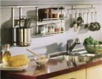 Рейлинг на кухне в интерьере – кухонный рейлинг в интерьере, ручки и полочки для мебели, как собрать принадлежности