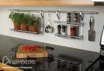 Рейлинги на кухню в интерьере фото – Рейлинги на кухне-быть или не быть…. — что повесить на рейлинги на кухне — запись пользователя Белка Алёнка (karapyzik1) в сообществе Дизайн интерьера в категории Интерьерное решение кухни