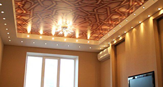 Реклама натяжные потолки фото – Фотографии натяжных потолков, фото дизайн потолков в фотогалерее ремонта компании Ресар