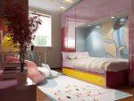 Ремонт комнаты для девочки подростка – Дизайн комнаты для девочки подростка (Фото)| Оформление помещения для двух (2) девочек