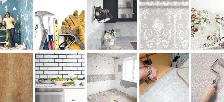 Ремонт на маленькой кухне своими руками фото варианты отделки – Отделка кухни своими руками: материалы, последовательность, советы