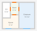 Ремонт однокомнатной квартиры 36 кв м – Проекты ремонта однокомнатной квартиры 36 кв м выгодно в СПб: цены, гарантии, сроки
