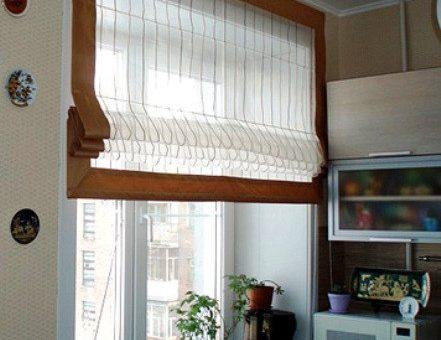 Римская штора на окно
