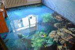 Рисунок 3д на полу – технология изготовления, видео примеры, наливные поверхности своими руками