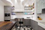 Серые с белым кухни фото – Современные кухни серого цвета (серебристый или металлик) — стильно и модно, фото серых кухонь в интерьере